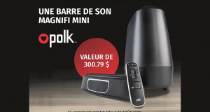 Une barre de son Polk Audio