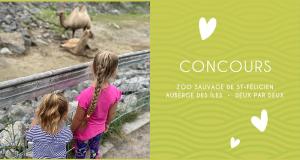 Une journée au Zoo + une nuit à l'auberge + carte cadeau de 200 $
