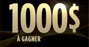 1 000$ sous forme d'un chèque (2 Gagnants)