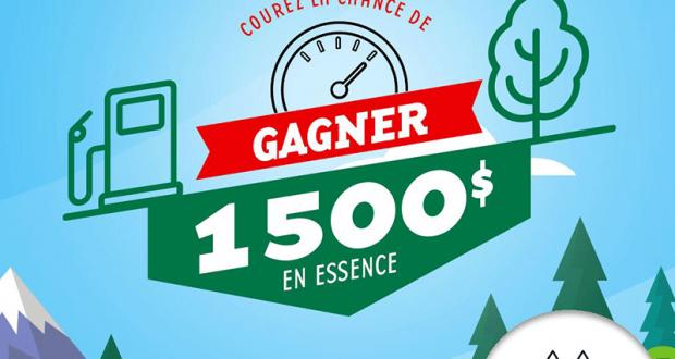 1500$ en cartes-cadeaux ESSO