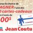 Gagnez 10 cartes-cadeaux Jean Coutu de 100$