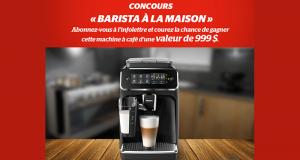 Gagnez Une machine à café Philips de 999$