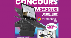 Un ordinateur portable Asus Chromebook Flip