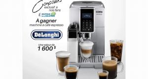 Une machine à café espresso De'Longhi de 1600$
