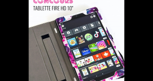 Une tablette Fire HD 10 - 32 Go