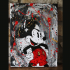 Une toile Mickey Éclaté 18X24