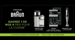 4 appareils Braun offert par Linen Chest