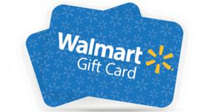 Gagnez 10 cartes cadeaux Walmart