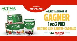 Gagnez 7800$ en cartes-cadeaux Metro (3 Gagnants)