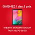 5 Tablettes Samsung Galaxy Tab A 10