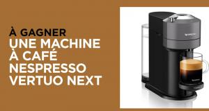 3 machines a café Vertuo Next de Nespresso