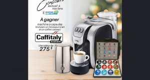 Gagnez une machine Caffitaly Canada