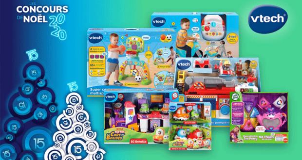 Gagnez une variété de jouets interactifs VTech pour enfants