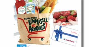 Gagnez 5000 $ en cartes cadeaux Metro et Jean Coutu