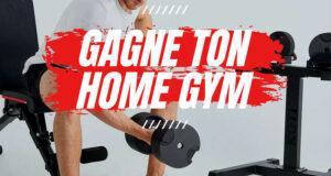 Gagnez un home gym d'une valeur de plus de 1900 $