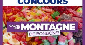 Gagnez une montagne de bonbons