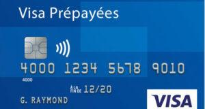 carte prépayée Visa de 5000 $