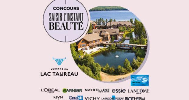 Gagnez 4 séjours à L'auberge du Lac Taureau (5000 $ chacun)