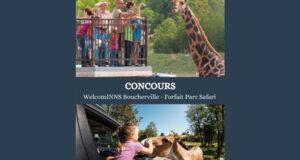 Gagnez un Forfait nuitée en famille au Parc Safari