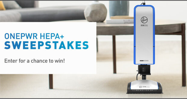 Gagnez un aspirateur vertical sans fil Hoover ONEPWR HEPA+