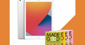 """Gagnez un iPad 10.2"""" (2020) 128GB- Wi-Fi + 9 produits MadeGood"""
