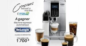 Gagnez une machine à café espresso De'Longhi (Valeur de 1700 $)