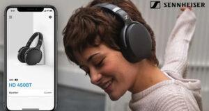 Gagnez une paire d'écouteurs 450BT de Sennheiser