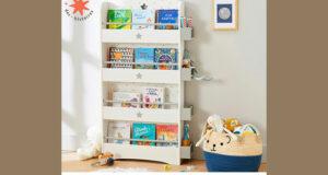 Gagnez une superbe bibliothèque en bois garnie de 30 livres