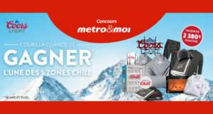 Gagnez 15 frigos Danby + 5 zones Chill Coors Light