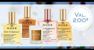 Gagnez 5 paniers cadeaux Huile Prodigieuse de Nuxe