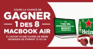 Gagnez 8 MacBook Air (Valeur de 1300 $ chacun)