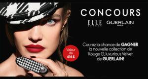 Gagnez un ensemble de 6 rouges à lèvres Guerlain (616 $)