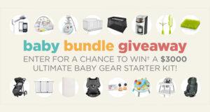 Gagnez un ensemble de prix pour bébé (Valeur de 3000 $)