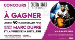 Gagnez 40 paires de billets pour le spectacle de Marc Dupré (7200 $)