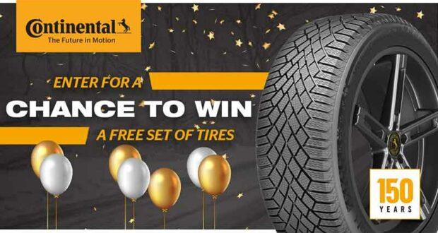 Gagnez un ensemble de pneus Continental (Valeur de 1800 $)