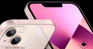 Gagnez un iPhone 13