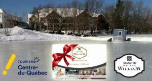 Gagnez une carte cadeau Manoir du lac William de 500 $